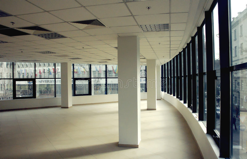 Modernes leeres Büro lizenzfreie stockfotos