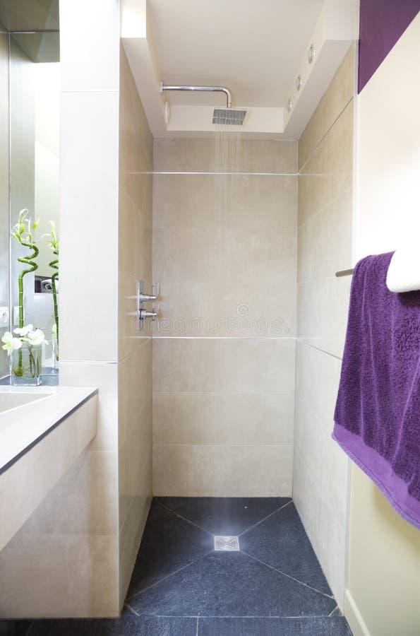 Modernes luxuriöses Badezimmer lizenzfreies stockfoto