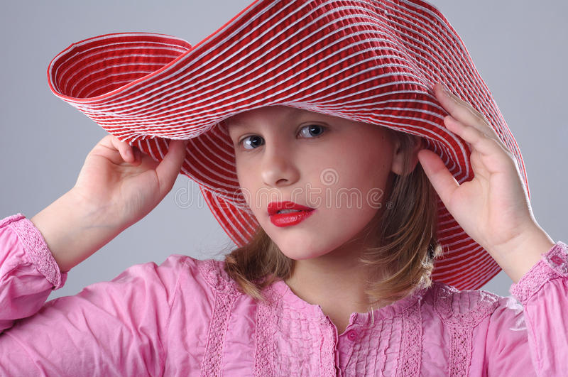 Modernes Mädchen. stockfotografie
