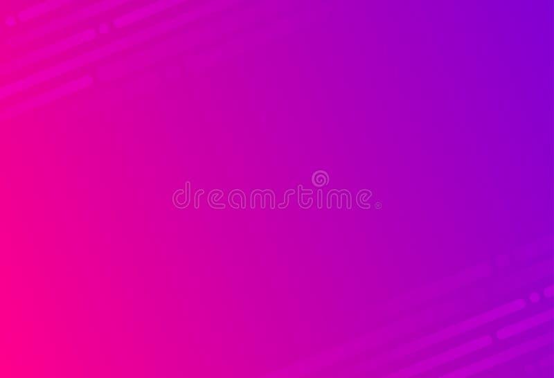 Modernes Rosa und purpurroter Parteizusammenfassungstechnologiehintergrund stockfotografie