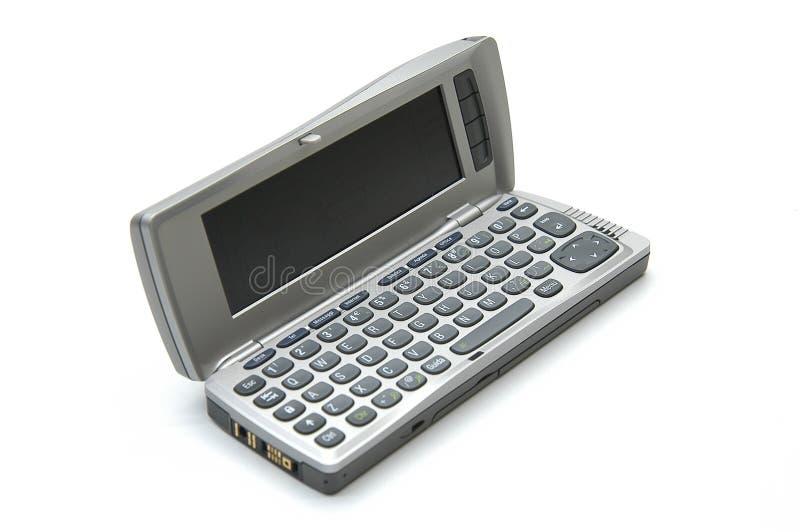 Download Modernes smartphone stockbild. Bild von geöffnet, band, halb - 40377