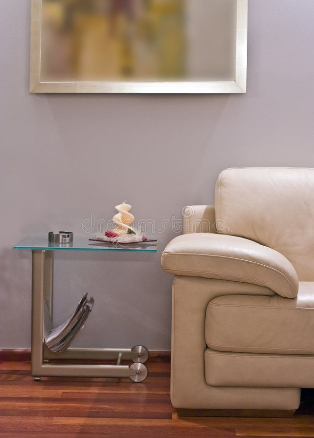 Modernes Sofa lizenzfreie stockfotografie