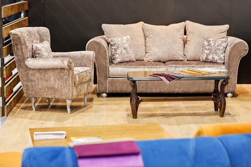 Modernes Sofa stockbild