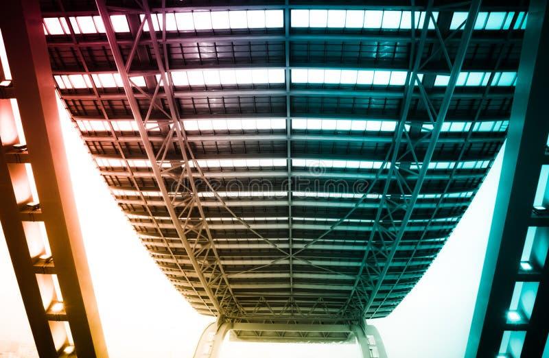 Modernes Stadtarchitekturgebäude lizenzfreies stockfoto