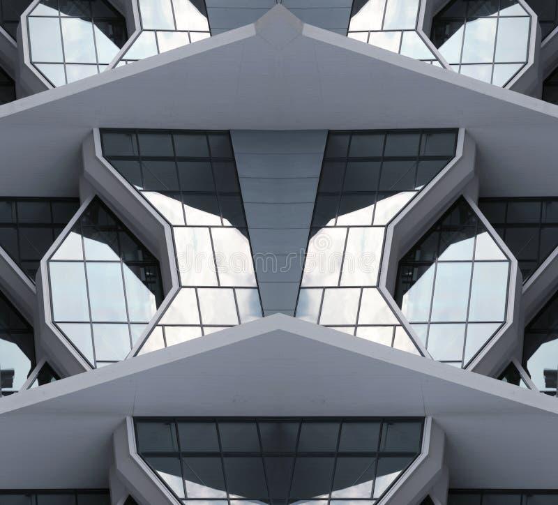 Modernes Stadtgebäude vom 21. Jahrhundert lizenzfreie stockfotos