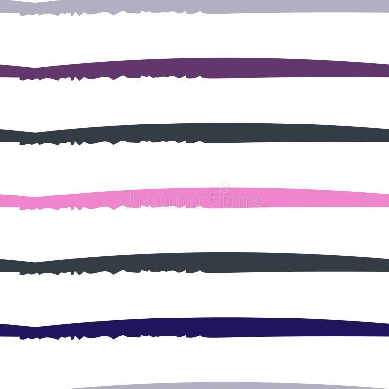 Modernes Streifen-Motiv lizenzfreie abbildung