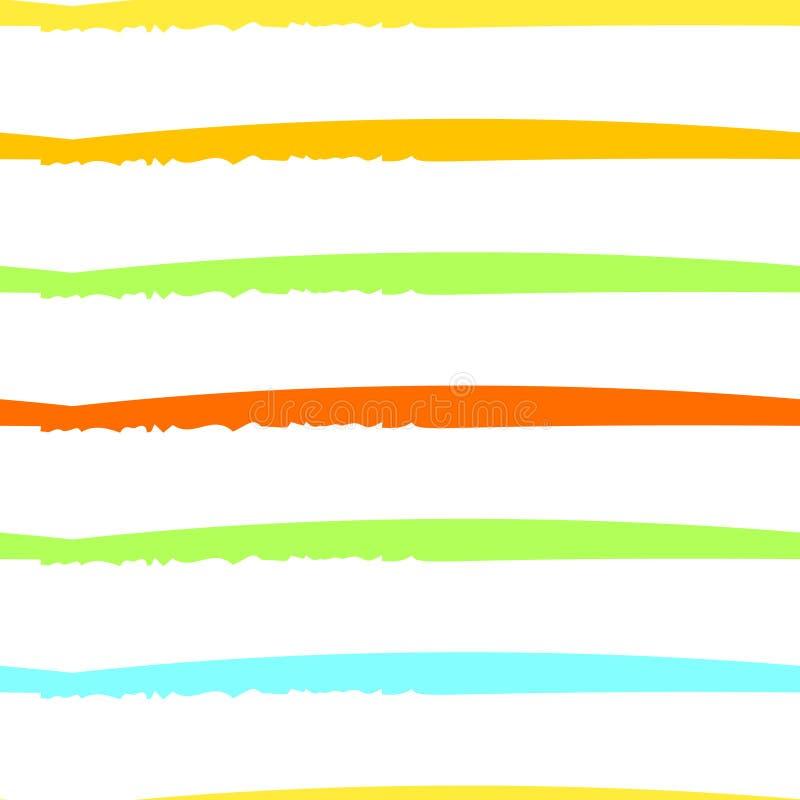Modernes Streifen-Motiv stock abbildung