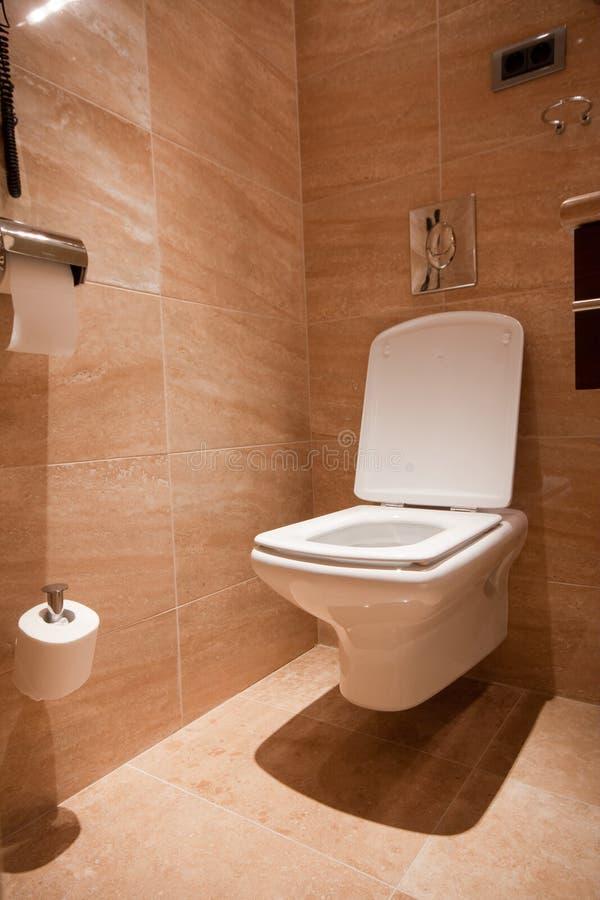 Modernes toilette lizenzfreie stockfotos