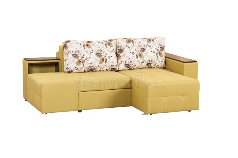 Modernes weiches Sofa lizenzfreie stockfotografie
