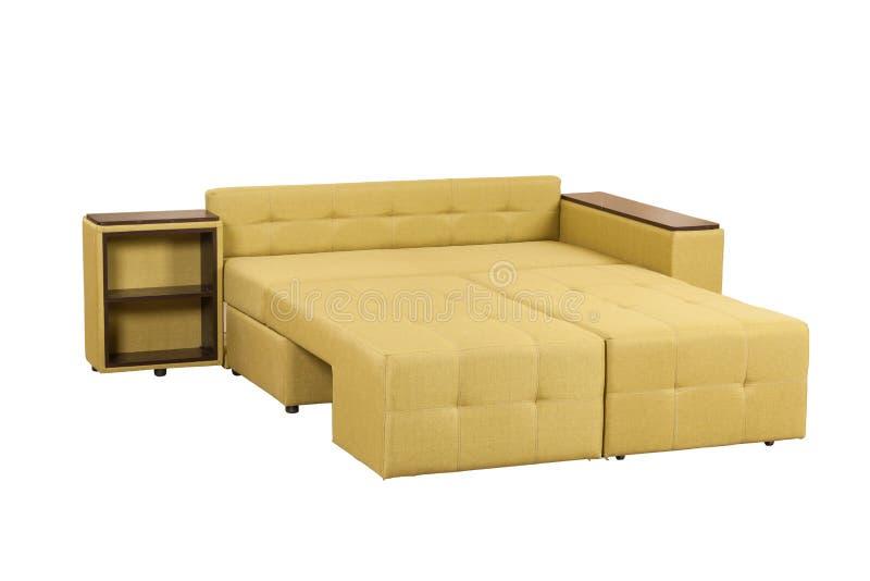Modernes weiches Sofa lizenzfreie stockfotos