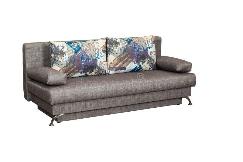 Modernes weiches Sofa stockfotos