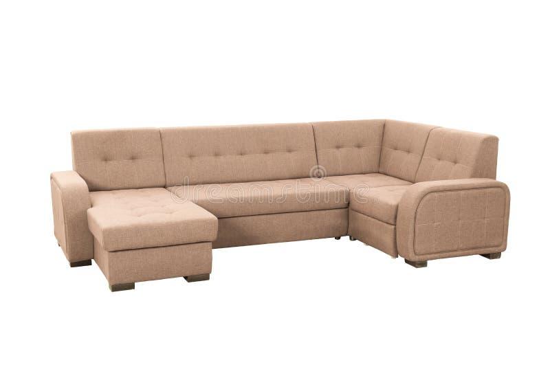 Modernes weiches Sofa lizenzfreies stockbild