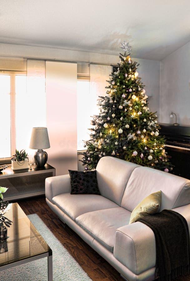 Modernes Weihnachten lizenzfreies stockfoto