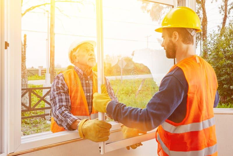 Modernisation de nouvelle fenêtre photos stock