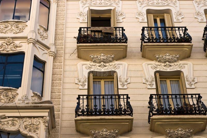 Modernisme Art Nouveau royalty free stock images