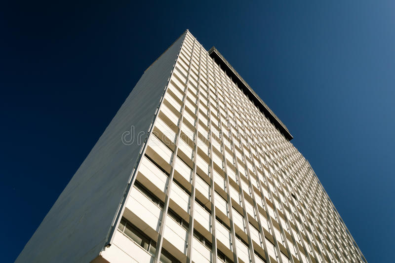 Modernist building in Guadalajara Mexico royalty free stock images