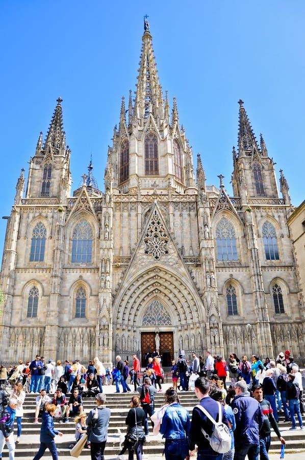 Modernista de Edificio - Barcelona España imágenes de archivo libres de regalías