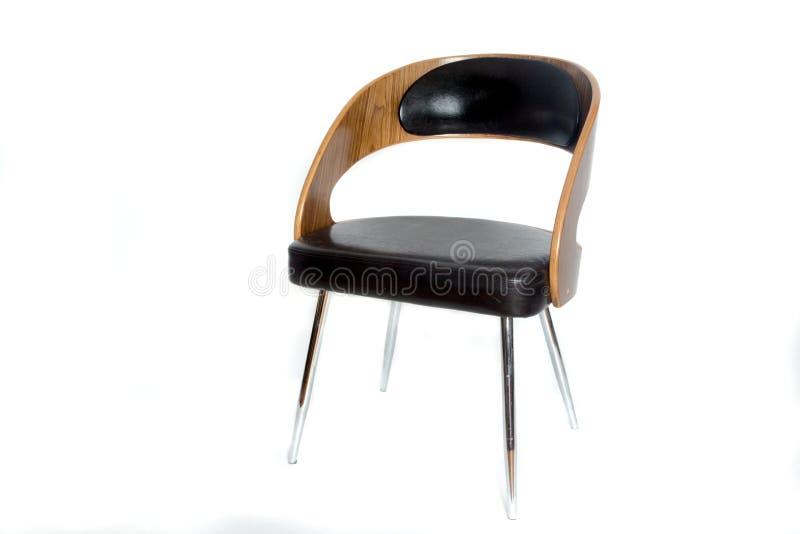 Modernistic ретро стул дизайна стоковое изображение rf