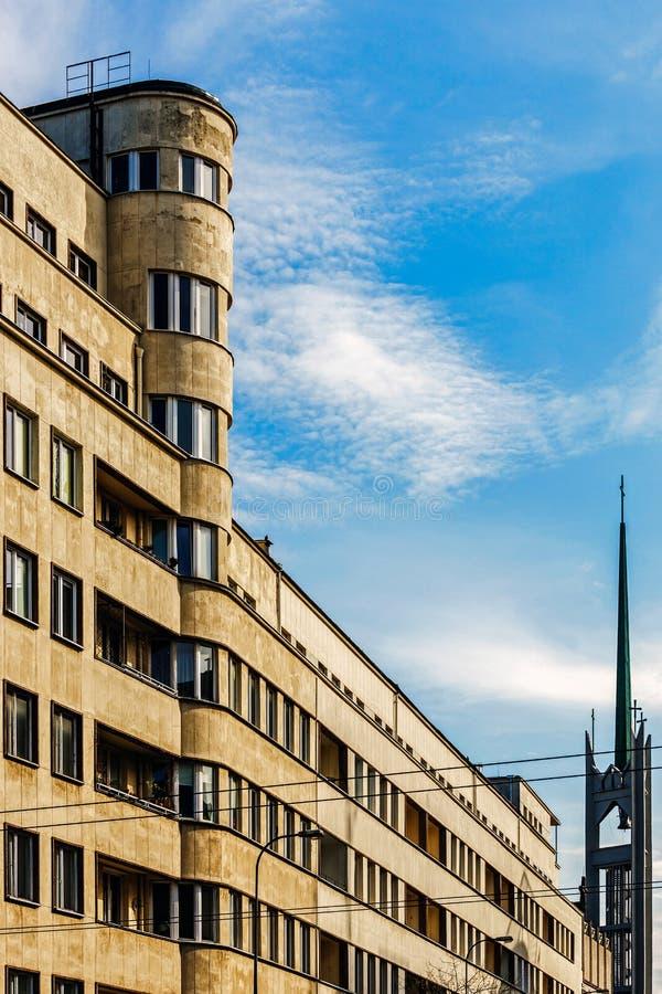 Modernistic строение стоковое фото