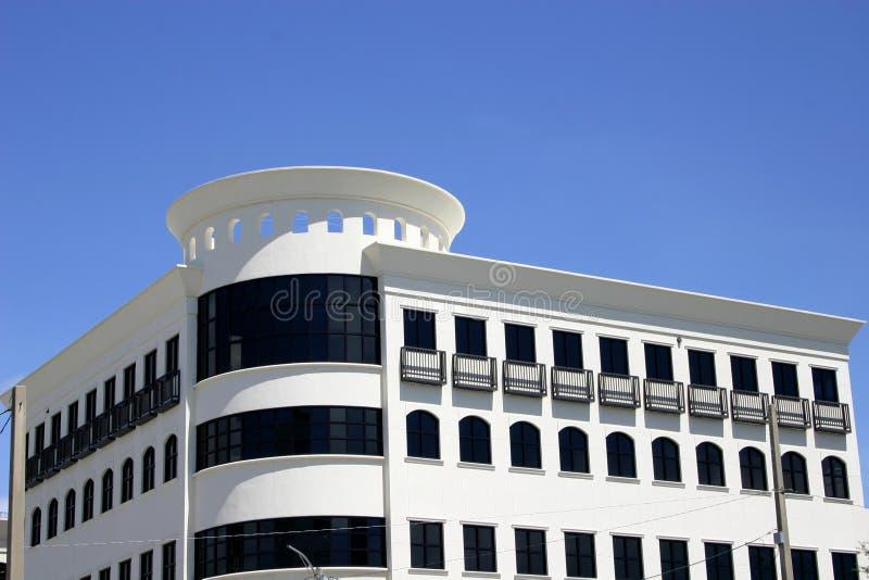 Modernistic Gebäude stockbilder