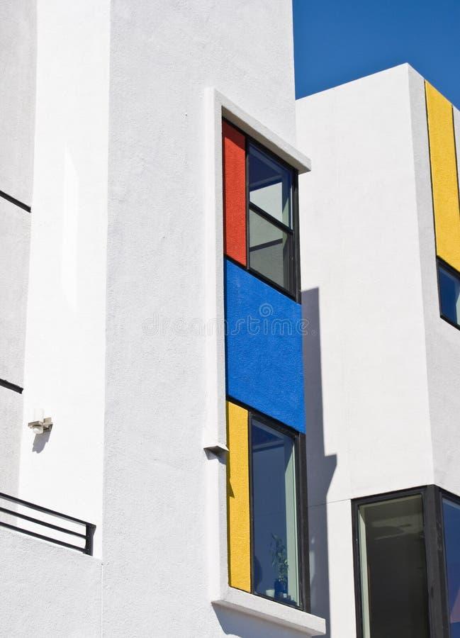 Moderno residencial de California foto de archivo
