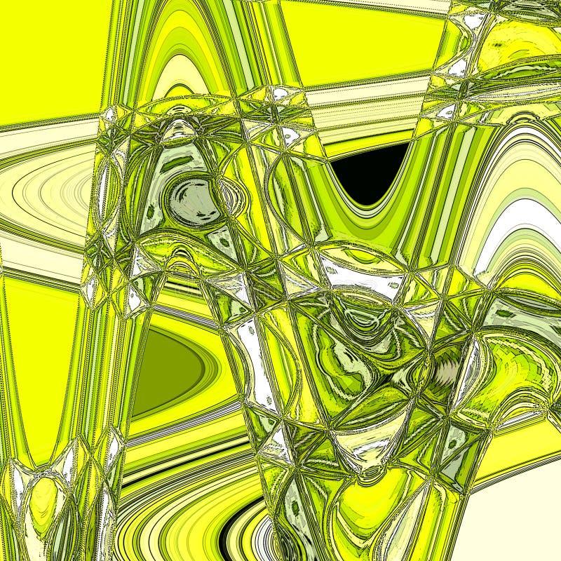 Modernt abstrakt begrepp täcker bakgrund Den kalla lutningen formar sammansättning royaltyfri illustrationer