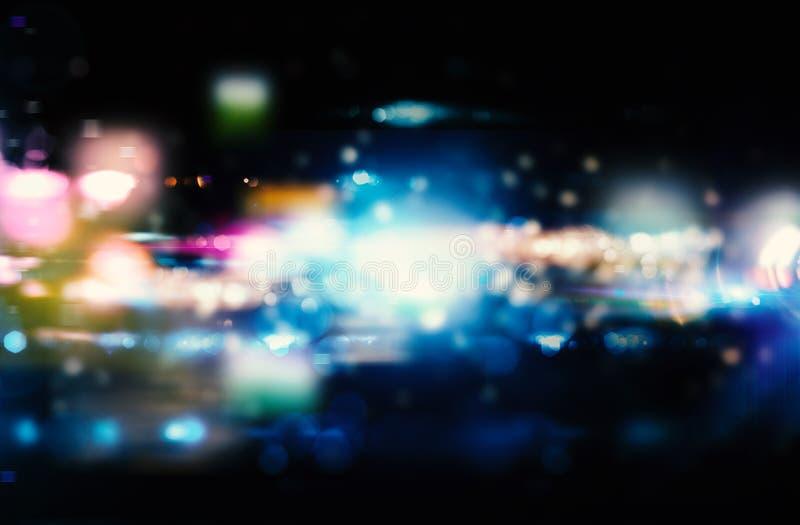 Modernt abstrakt rörelsebaner på mörk bakgrund royaltyfri bild