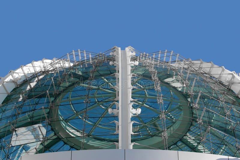 Download Modernt byggande fotografering för bildbyråer. Bild av exponeringsglas - 287849