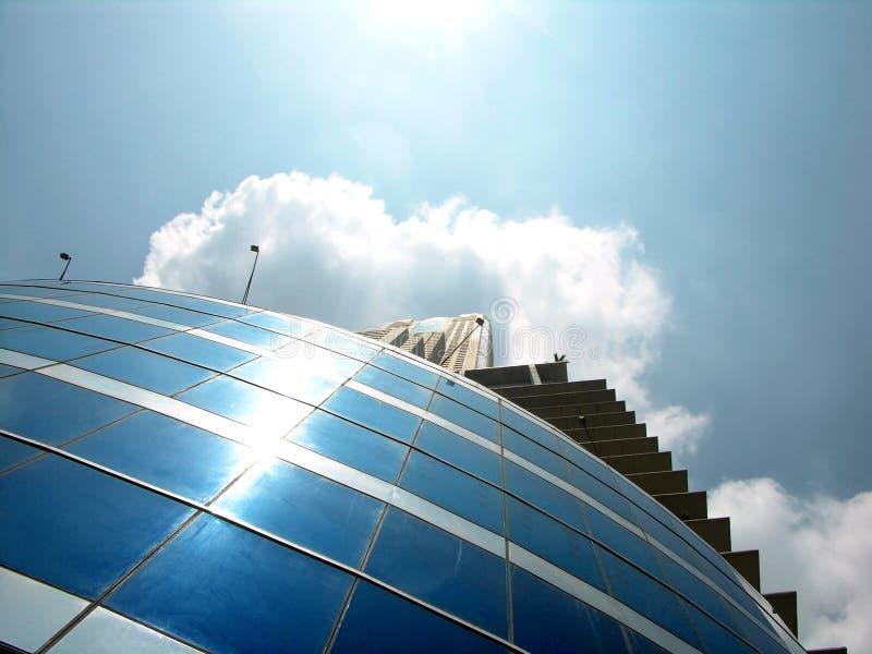 Download Modernt byggande fotografering för bildbyråer. Bild av stad - 45467