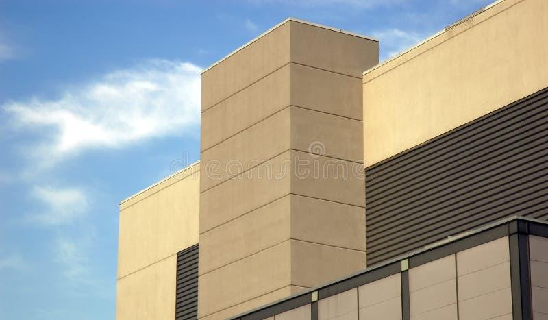 modernt byggande royaltyfri bild