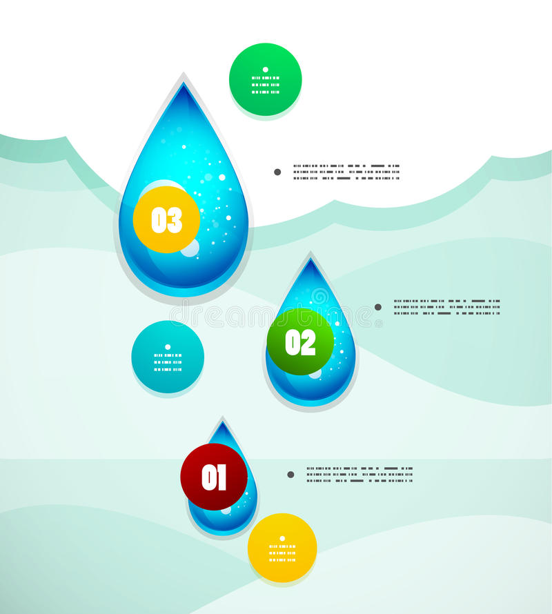Modernt infographic för alternativbaner royaltyfri illustrationer