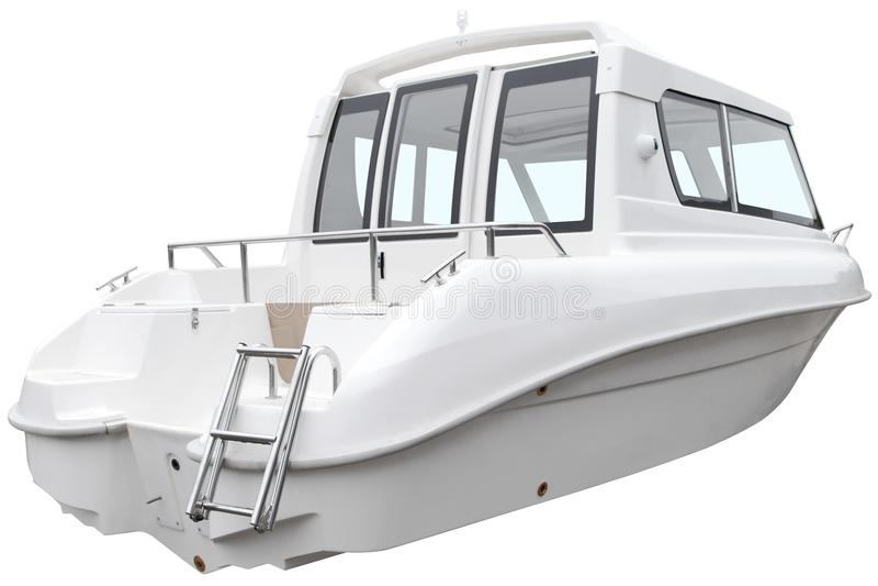 Modernt kabinfartyg royaltyfri fotografi