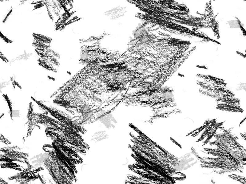 Modernt klottra titelraden vektor illustrationer
