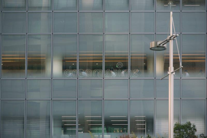 Modernt kontor i Tokyo royaltyfri bild