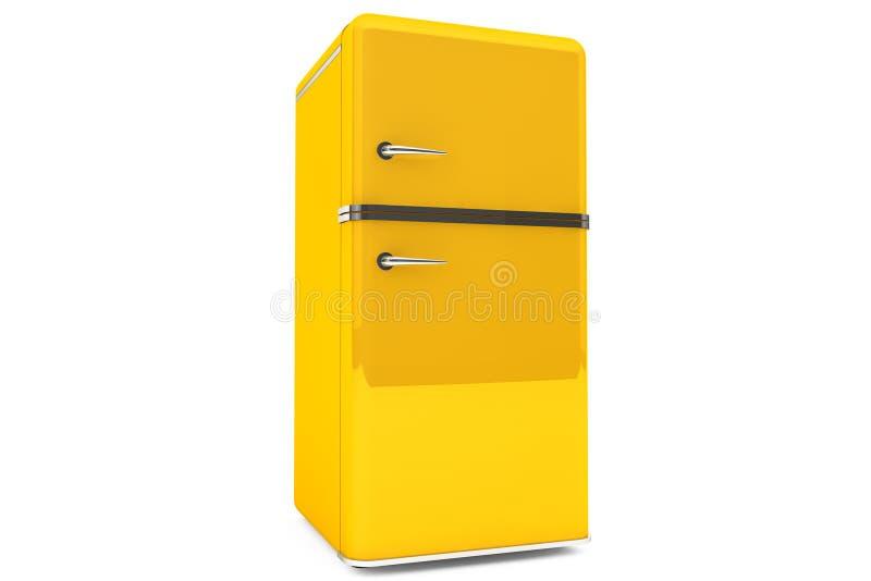 Modernt kylskåp vektor illustrationer