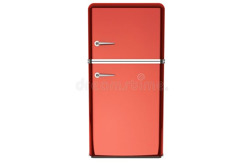 Modernt kylskåp stock illustrationer