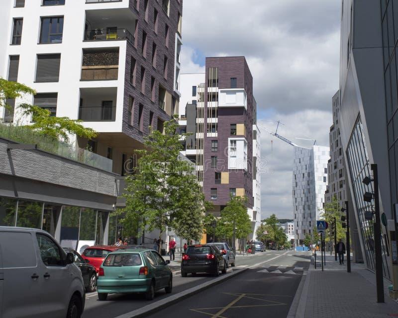 modernt stads- f?r arkitektur royaltyfri foto