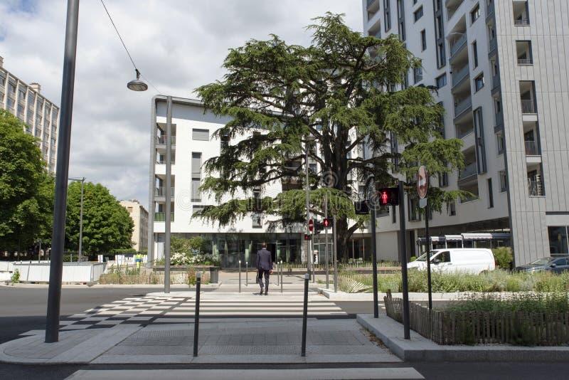 modernt stads- f?r arkitektur arkivbild