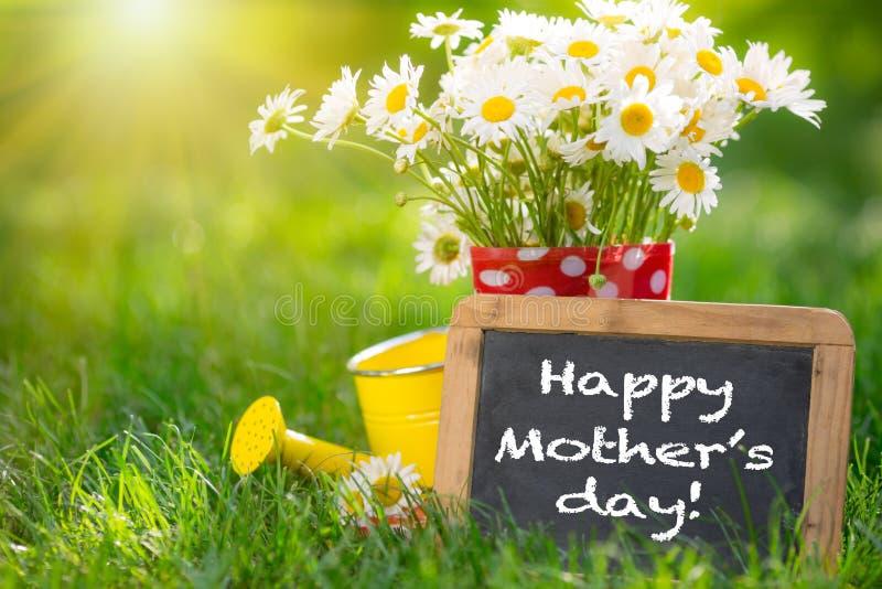 Moders hälsning för dag fotografering för bildbyråer