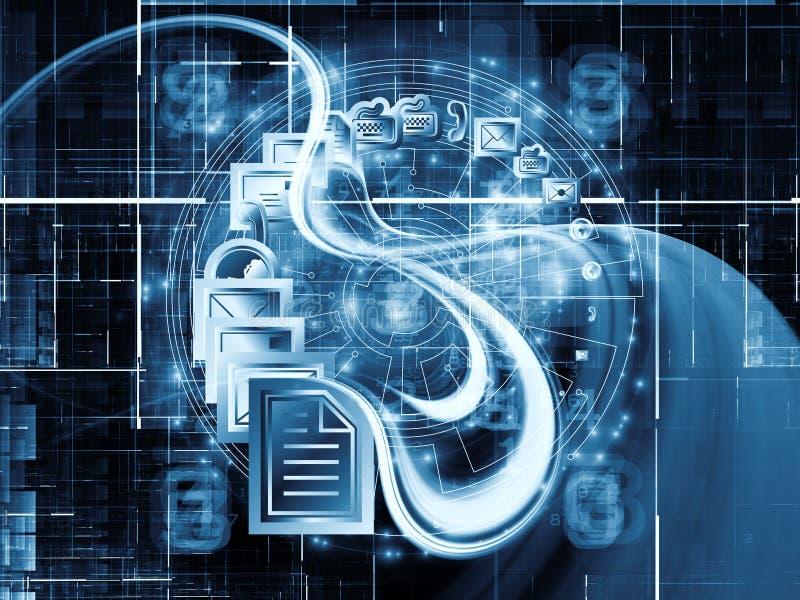 Download Modes of communication stock illustration. Illustration of circuit - 23583051