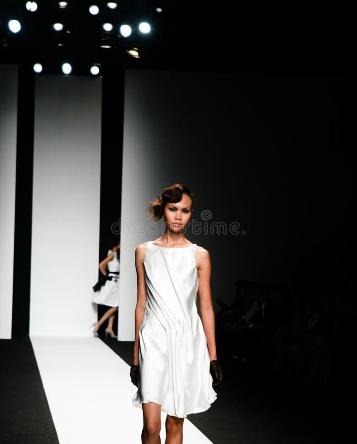 Modeschau stockbilder