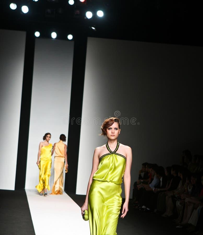 Modeschau stockbild
