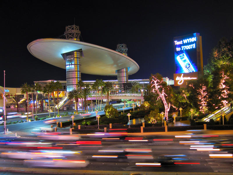 Modeschau-Mall, Las Vegas stockfotos