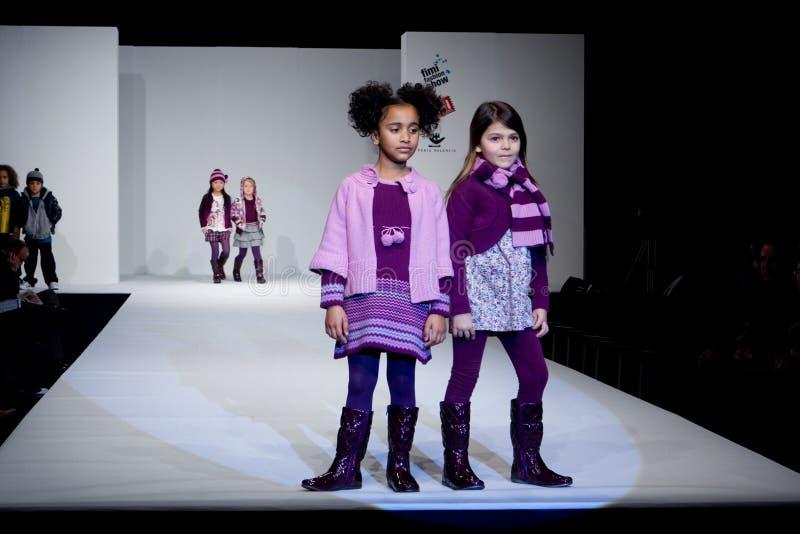 Modeshow stock foto