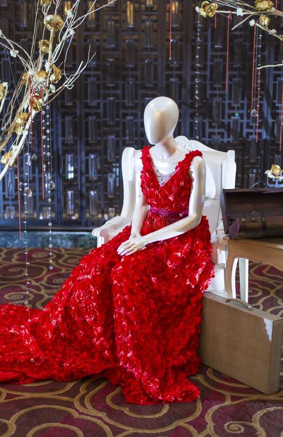 Modeskyltdocka royaltyfria bilder