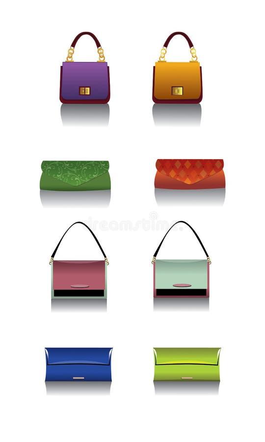 Modetaschen 2 stockfotografie