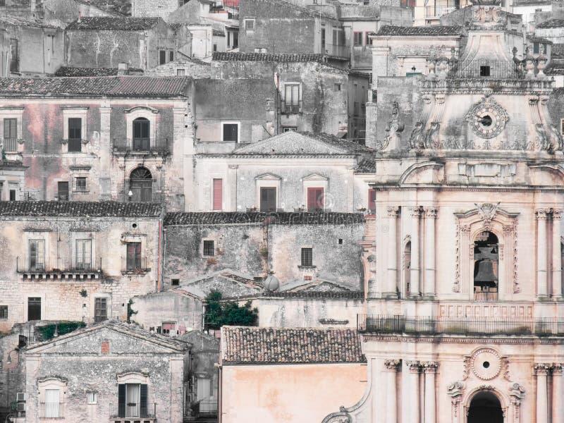Modica, Sicilië, Italië stock foto