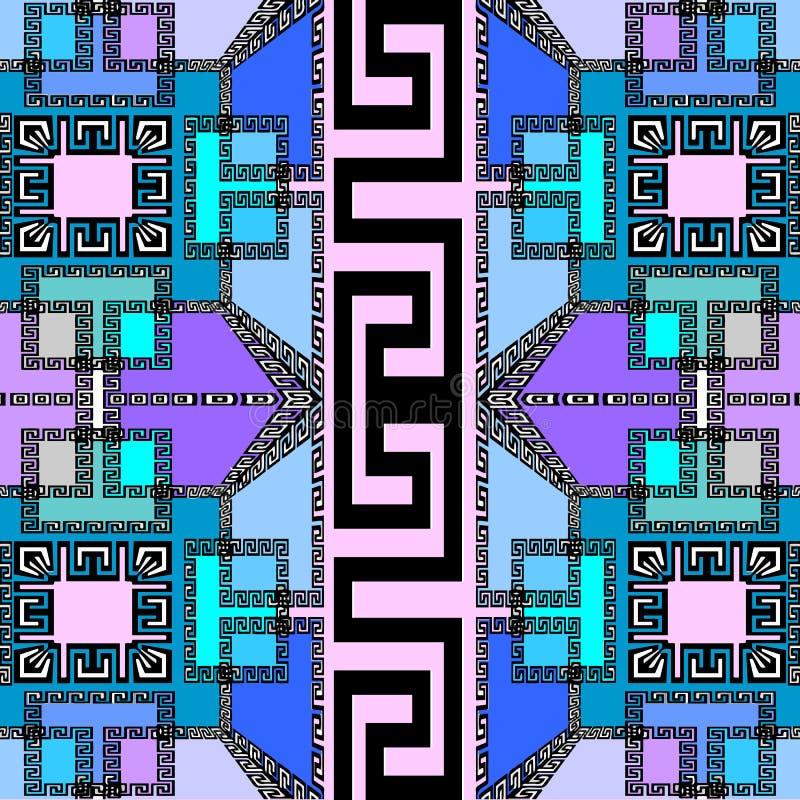 Modieus elegant geometrisch vector naadloos patroon Moderne abstra stock illustratie