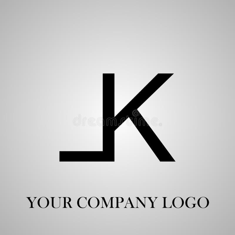 Modieus embleem Uw ontwerp van het bedrijfembleem Een van het bedrijfembleem of adreskaartje ontwerp stock illustratie