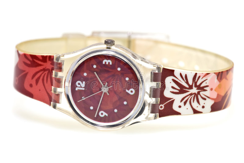 Modieus horlogebandjehorloge royalty-vrije stock fotografie